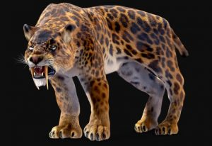Smilodon Extinct